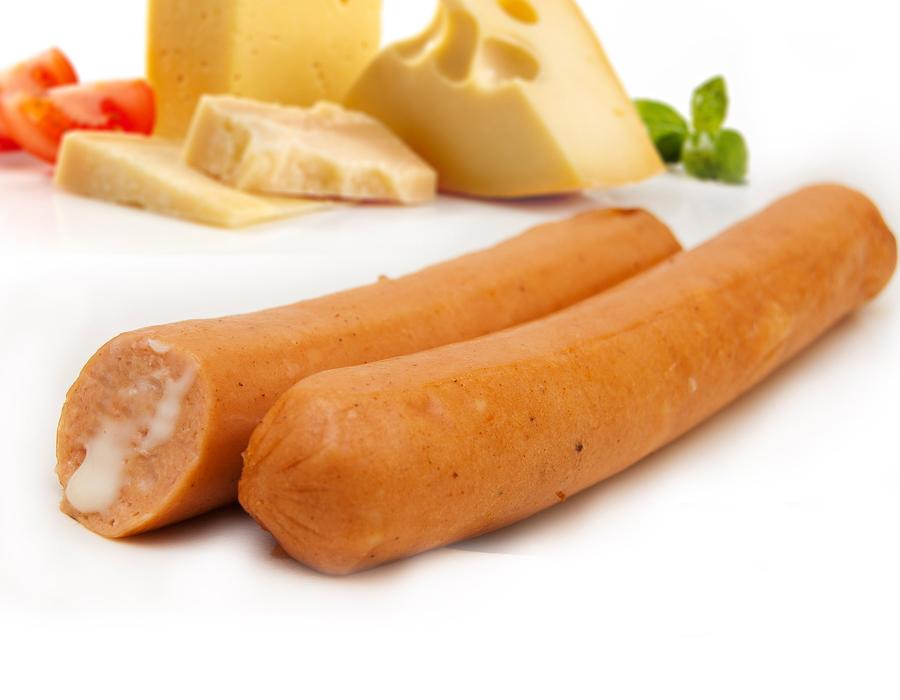 salchichas de queso